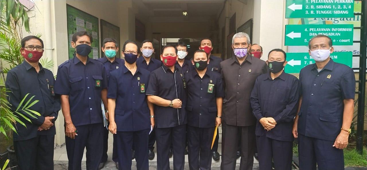 Sidak Hari Pertama Kerja oleh WKPTA Surabaya