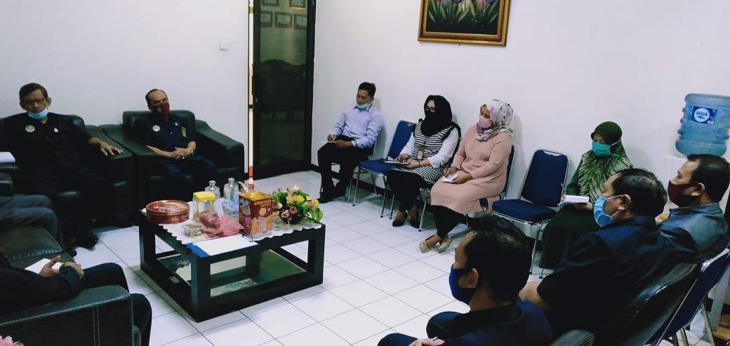 Rapat Monitoring dan Evaluasi Pelayanan Posbakum