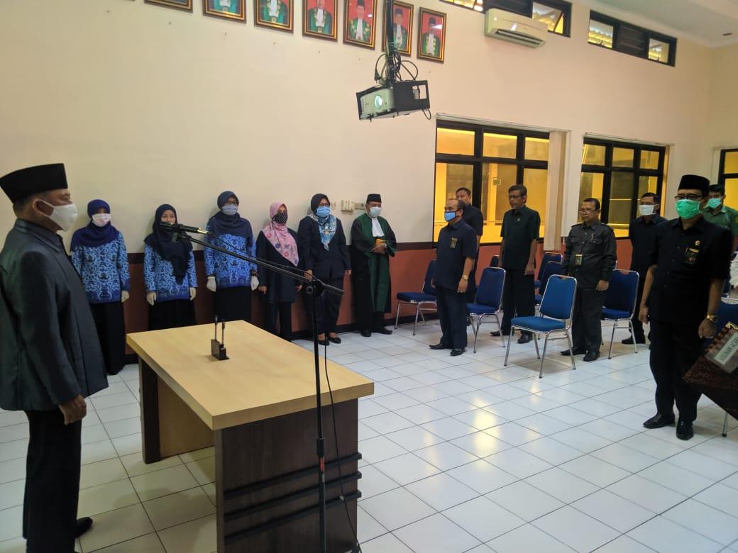 Pelantikan dan Pengambilan Sumpah PNS Pengadilan Agama Surabaya
