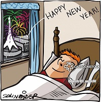 Tidur Pulas di Malam Tahun Baru, Siapa Takut..?
